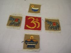 Name of the product -Coaster Material -Wool, Tana, Synthetic thread Time frame –One Day Each Cost –Rs.50/-Each
