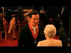 Esta mañana en el Palacio de Buckingham, Benedict Cumberbatch recibió de manos de la Reina Isabel II la medalladeComandante de la Más Excelente Orden del Imperio Británico, (Commander of the Most...