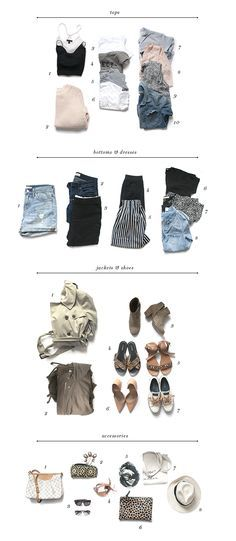 Packing for Two Weeks in Europe - Earnest Home co.