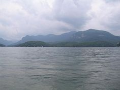 Lake Lure in Rutherford Co NC