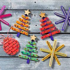 Christmas Crafts For Kids, Christmas Treats, Kids Crafts, Christmas Diy, Diy And Crafts, Arts And Crafts, Christmas Decorations, Xmas, Christmas Ornaments