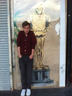 Me and Banksy on Hollywood Blvd.