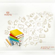 Education Infographics Vector EPS