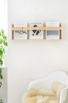 DIY | magazine rack @burkatron
