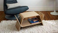 Oak Multifunctional Embrace Shelf by John Green Design   MONOQI