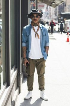 77 mens street style summer outfit ideas - Men's style, accessories, mens fashion trends 2020 Look Street Style, Urban Street Style, Street Style Summer, Urban Street Wear, Nyc Mens Fashion, Look Fashion, Fashion Styles, Fashion Tips, Fashion Deals