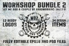 Workshop Bundle 2 by DreamBikeShop on @creativemarket