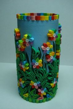 40 beautiful objects of art that are useful to you - Quilling Paper Crafts Neli Quilling, Paper Quilling Flowers, Paper Quilling Patterns, Quilled Paper Art, Quilling Paper Craft, Paper Crafts, Quilled Roses, Quilling Comb, Paper Quilling For Beginners