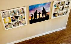 family photo display ideas - Google Search
