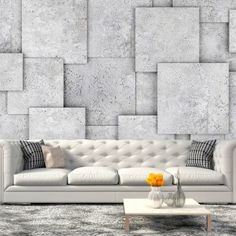 Fotomural The Abyss of Oblivion 3d Wall Murals, 3d Wall Decor, Metal Wall Decor, Clinic Design, Decoration Originale, Photo Wallpaper, Colour Schemes, Home Interior, Wall Design