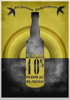 "Plakat "" Alkochol"""