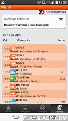 Bilkom - Train Timetable  Android App - playslack.com , Bilkom – Personal Train Timetable NavigatorThe mobile journey planner for Android smartphones offers the most comprehensive information service for your journey with all railway providers in Poland and beyond the border. The free app seamlessly finds connections or checks current arrival times. Plan your trip from your current location to the next train station, a specific address or your point of interest. Bilkom is the only official…