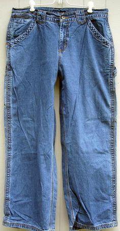 LA BLUES Comfortable Carpenter Style Denim Jeans Size 16W Free Shipping Price:US $19.99
