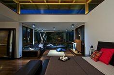 Habitacion moderna con iluminacion