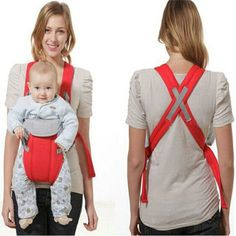 New Arrival Quality Cotton Infant Baby Shoulder Backpack Sling Strap Wrap Carrier Suspenders Baby Care Carriage