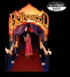 A Night in Bollywood :: Decorations @ EntertainOz