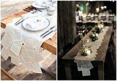 Decora tu mesa con tus propias manos. Hoy os traemos algunas bonitas ideas de camino de mesa DIY para hacer con diferentes materiales, para todos los días y también para ocasiones especiales.