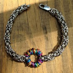 Women's Stainless Steel Anodized Aluminum Jewelry by Faroutmaille