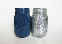 Glitter an navy party | found on etsy com
