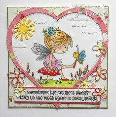 LOTV - Fairy Butterfly by Anne Richardson Stamp Sets, A5, Fairies, Stamping, Lily, Butterfly, Create, Cards, Inspiration