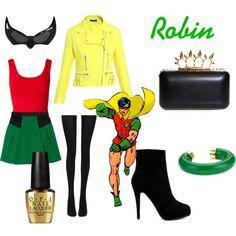 """Robin outfit #dc comics #batman #young justice"