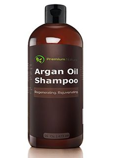 Argan Oil Daily Shampoo 16 oz Rejuvenates Heat Damaged Hair Nourishes Prevents Breakage Sulfate Free All Hair Types Dry Damaged Colored Hair Volumizing Moisturizing Premium Nature ** Read more at the image link. (This is an affiliate link) Argan Oil Conditioner, Deep Hair Conditioner, Deep Conditioning Hair, Organic Shampoo, Natural Shampoo, Organic Coconut Oil, Organic Oil, Shampoo For Thinning Hair, Hair Care Brands