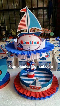 Sailor Birthday, Mickey Birthday, Baby 1st Birthday, 3rd Birthday Parties, Sailor Baby Showers, Baby Boy Shower, Birthday Themes For Boys, Birthday Decorations, Nautical Party