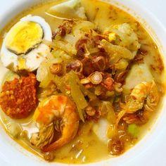 Resep lontong sayur Instagram Fruit Salad Recipes, Rice Recipes, Asian Recipes, Snack Recipes, Dinner Recipes, Cooking Recipes, Snacks, Malaysian Cuisine, Malay Food