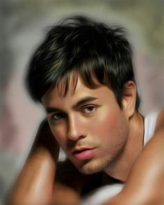 Enrique Iglesias. Digital painting..