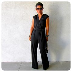 mimi g.: DIY Black Jumpsuit - learning to sew immediately!!