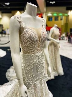 Beaded gown at the Twin Cities Bridal Show Fashion Avenue Beaded Gown, Bridal Show, Twin Cities, Wedding Vendors, Wedding Planning, Fashion Show, Gowns, Wedding Dresses, Inspiration