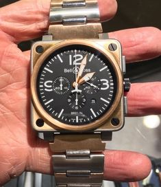 Come visit us in Donwtown Royal Oak Men's Watches, Watches For Men, Mens Designer Watches, Bell Ross, Royal Oak, Gold Watch, Bracelet Watch, Metal, Top Mens Watches