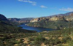 Apache Lake | Apache Lake, AZ - kayaking and hiking