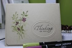 CAS - Watercolor Trio Revisited by ceripea - Cards and Paper Crafts at Splitcoaststampers