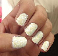 snow nails! Ok, I would actually do this one.