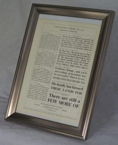 Genuine letterpress-printed type samples from the Monotype Corporation, tastefully framed, £15 - UK only