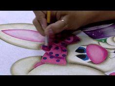 Mulher.com 06/03/2015 Pintura em tecido coelho por Lilinha Silva Parte 1 - YouTube