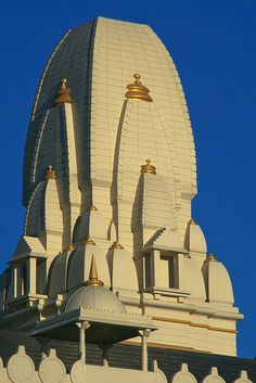 Shree Swaminarayan Temple - Roof Detail - Merches Place, Grangetown in Cardiff, Wales