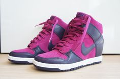 buy online c6072 20d01 liberty x nike wmns dunk sky high dark plum blue