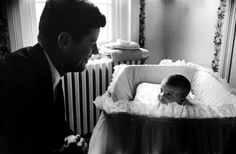 JFK and daughter Caroline