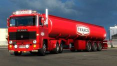 Fuel Truck, Old Lorries, 111, Texaco, Commercial Vehicle, Gas Station, Old School, Transportation, Cars