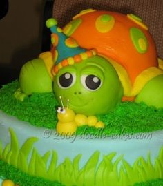 Squirt Turtle cake Cakes Cake Decorating Daily Inspiration