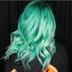 "8,226 Likes, 33 Comments - Pulp Riot Hair Color (@pulpriothair) on Instagram: ""Absinthe, Nightfall, and Sea Glass... @roguehairstudio is the artist... Pulp Riot is the paint."""