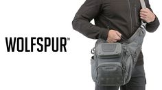 The WOLFSPUR™ is a crossbody shoulder bag from Maxpedition's Advanced Gear Research. Watch the video to see the latest features!