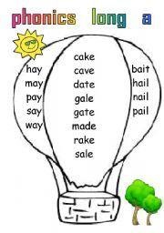 English worksheet: 5 pages of long vowels Long Vowel Worksheets, Grammar Worksheets, Speech Language Pathology, Speech And Language, Phonics Reading, Long Vowels, Vowel Sounds, Teaching English, English Language