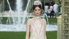 The complete Chanel Spring 2018 Couture fashion show now on Vogue Runway.