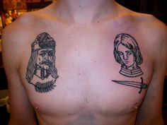 vlad and joan of arc tattoo by lyam
