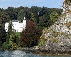 meggenhorn castle, lake lucern, switzerland