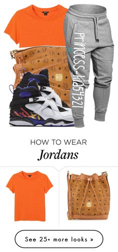"""""""*"""" by princess-kia54321 on Polyvore featuring Monki, MCM and NIKE"""