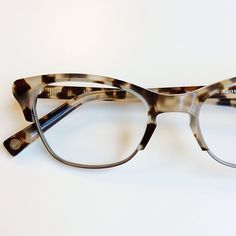 Instagram media by warbyparker - We've freshened up Holcomb this Winter—this subtle cat-eye style is now available in Pearled Tortoise. warbyparker.com/winter-2014 #warbywinter14